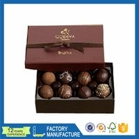 custom luxury cardboard paper gift chocolate packaging box