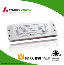 pwm 12v 24v 36v 36w constant voltage power supply 35w 0-10v dimming led driver