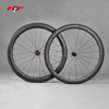 full carbon road wheels with 56mm aero wheelset for racing frame