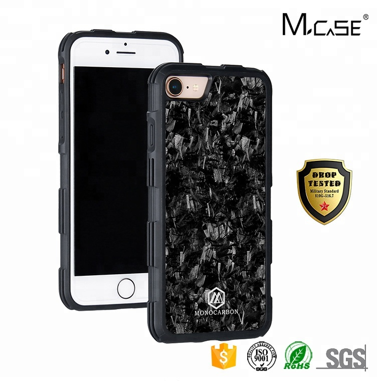 Phone <strong>Accessories</strong> Mobile Professional Forged Carbon Fiber Case for iPhone 7 8