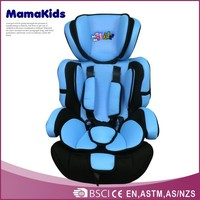 New design baby product car seat with CE certification safety baby car racing seat