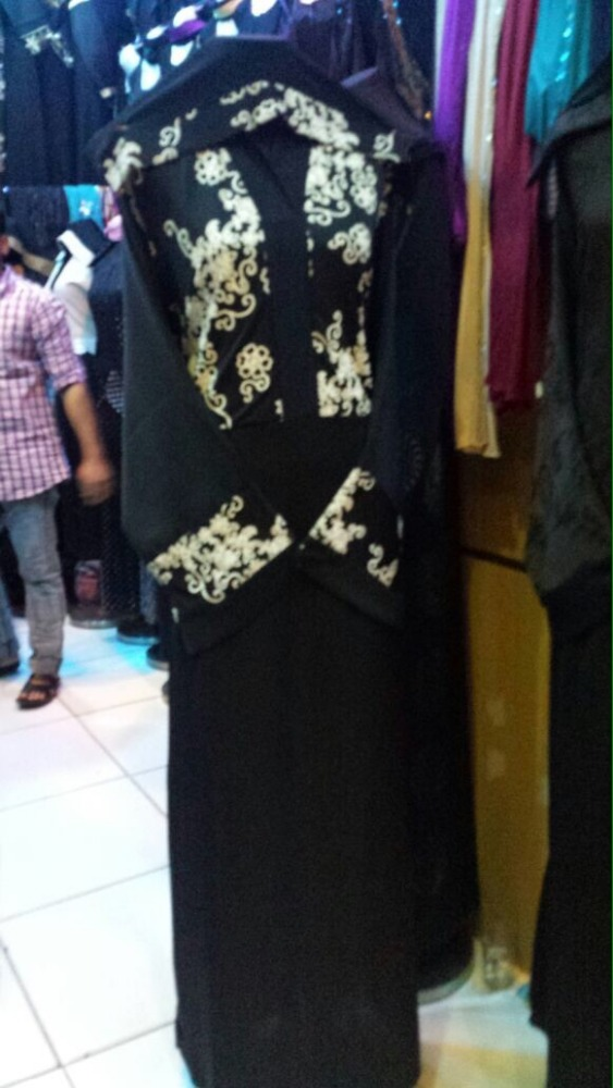 2015 latest fashion design muslim abay