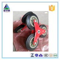 climb stairs wheel solid rubber wheel 3 wheel