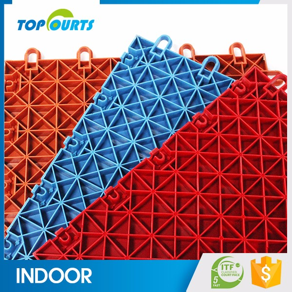China manufacturer product portable plastic pp floor indoor sport court