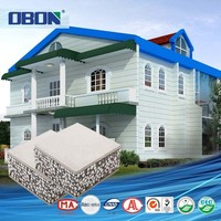 OBON modern design turnkey project 2 floor house prefabricated