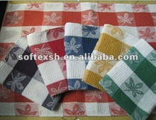 cotton waffle weave cheap tea towel wholesale