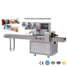 Protein Bar Biscuit Packing Machine For Chocolate