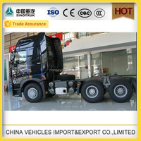 Factory hot sale Sinotruk Howo a7 china the future automobile tractor truck