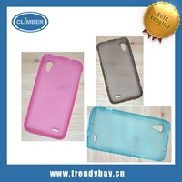 China phone case factory ultra thin transparent tpu case for lenovo s720