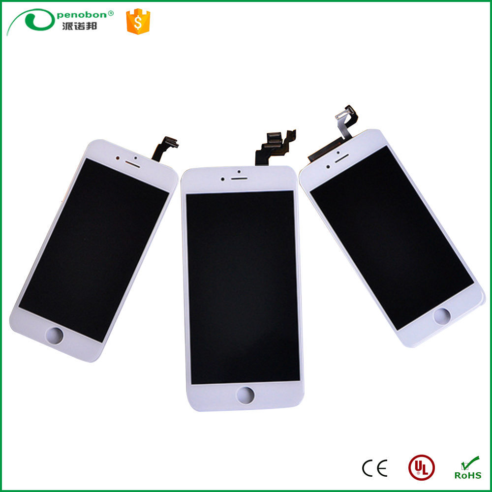 Wholesale mobile phone parts for iphone 6 lcd digitizer with touch screen
