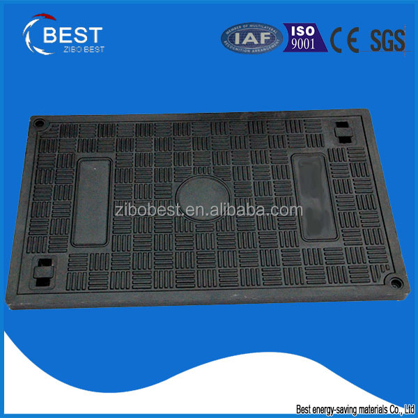 Zibo best China supplier rectangular electrical dubai manhole cover weight