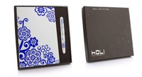 High quality and wholesale colorful pen notebook set