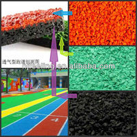 Colorful rubber mulch/EPDM granules for sports ground-FN-A-16042805