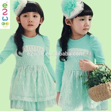 2015 Especially Design Kids Clothes Autumn Little Girls Dresses For Wholesale