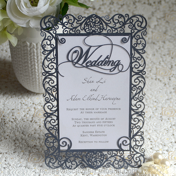 2016 Best price accpet custom unique items sell invitation cards