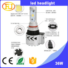 wholesale car h4 led headlight bulbs 12v 36w car headlight led with 6000LM