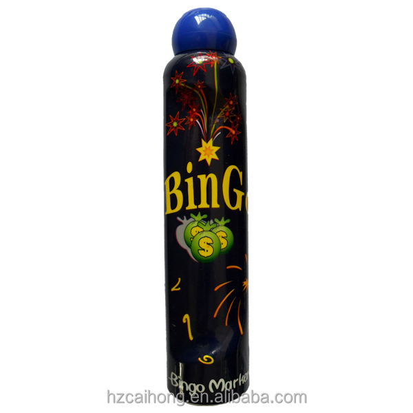 professional bingo manufacturer, EN71&SGS non-toxic dab and dot marker, 118ml 10mm nib big bingo dabber CH-2801