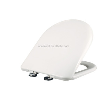 Two push button quick release WC toilet seat cover fit your bathroom