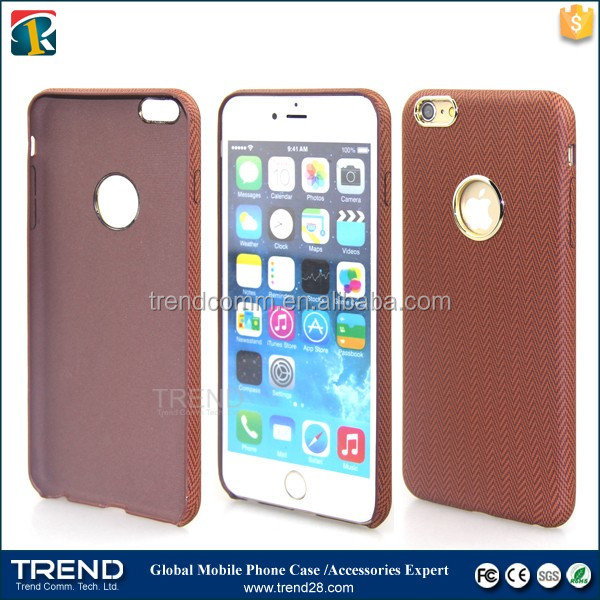 for iphone 6 plus new pu leather tpu soft back cover