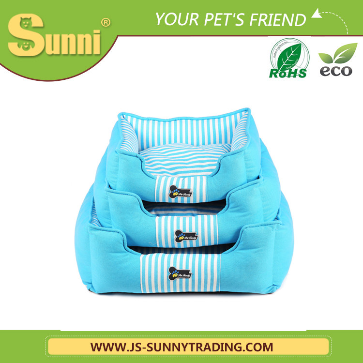New design three-piece washable pet beds wholesale dog beds