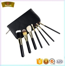 Fashion Mini 7pcs Black Pro Makeup Brush Set Cheap Premium Makeup Brush Set