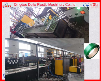 QUALITY ASSURED pp packing strap extrusion line pet pp packing strings machine pp Pet strapping tape line