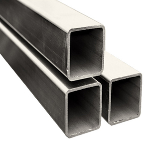 Chinese maket price cross-section ms black square steel tube