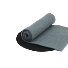 Custom made spun bond blue non woven fabric