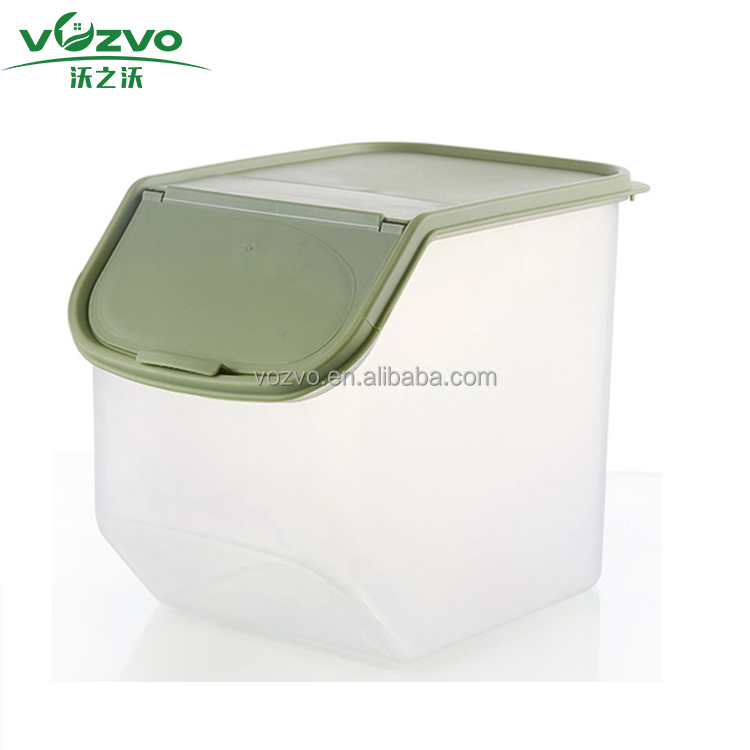 Cheap Price High Quality Pet Dry Food Dispenser Cat Dog Food Storage Jar Container