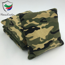 Custom design Camo Cornhole Bean Bag Toss Game