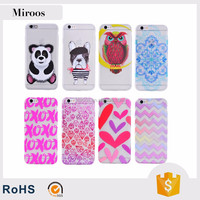 Water paste phone case tpu phone cover factory wholesale price for iPhone 6 6s