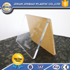 Transparent clear cast crystal acrylic plexiglass board