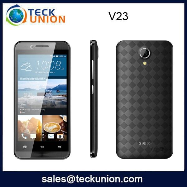 V23 4.5nch dual cameras flash light smart mobile phone 3g telephone gsm