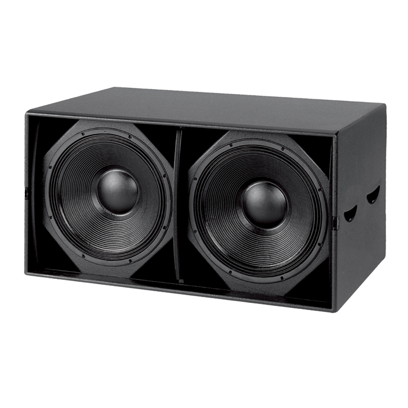 Professional Subwoofer Audio Dual 15-inch Bass Speaker
