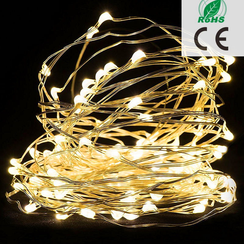 Good Quality Warm White Cheap Micro Battery Powered Porch Christmas Led Fairy Lights