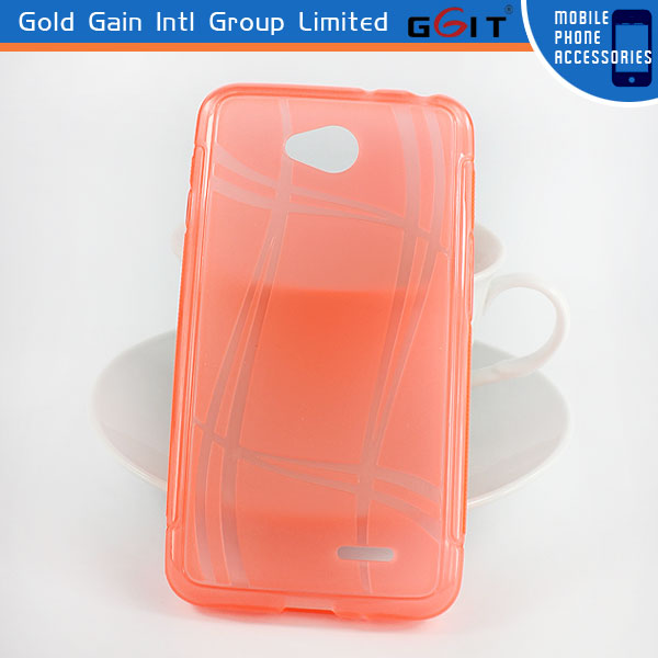 Fashion Summer Refreshing Clear TPU Case For HTC M8