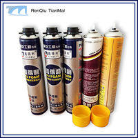 Sales adhesive glue polyurethane foam expanding spray pu foam sealant Factory Direct Sales