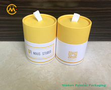 High end wholesale factory outlet cylinder box round paper tube packaging for candle