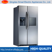 High quality Side By Side Refrigerator With Sliver / White / Black