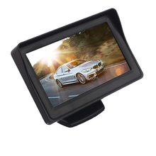 4.3 Inch LCD Monitor Car Rear View Mirror Reverse Camera Video Parking Sensor