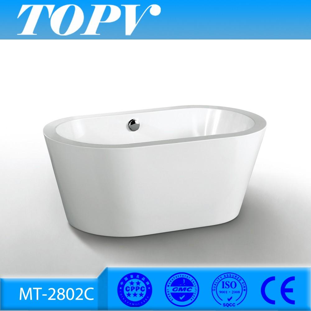 Mt 2802c hot sale acrylic freestanding bath tub for sale for Freestanding tubs for sale