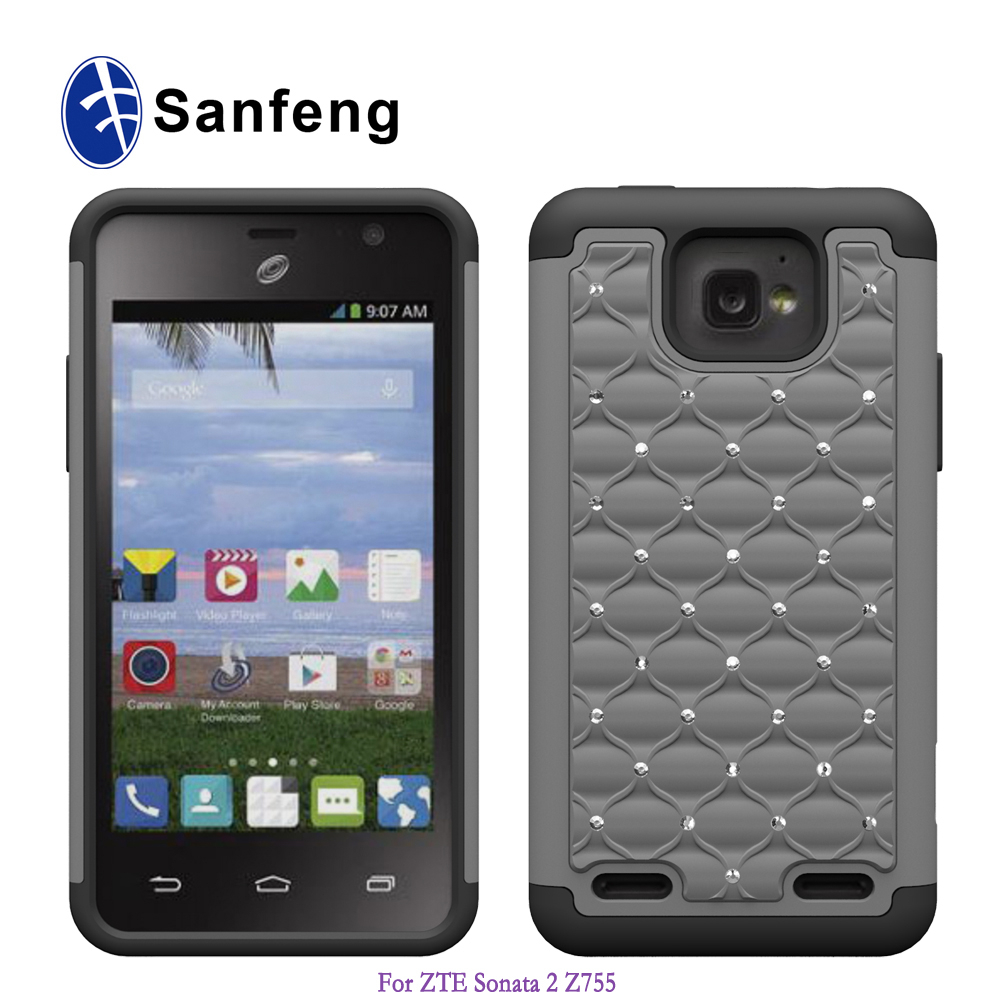 Hot sale competitive factory price silicone case cover for Zte zephyr z752c Sonata 2 Paragon Z753G available