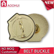 Hot sell die casting MOQ 10 las vegas belt buckle
