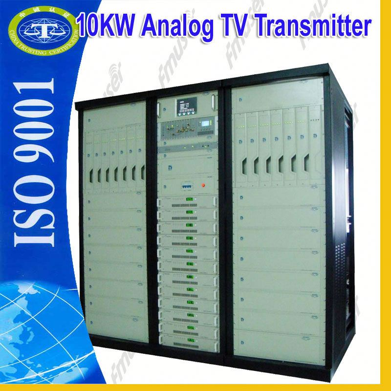 10KW Analog double exciters tv broadcasting equipment TV transmitter block diagram A3
