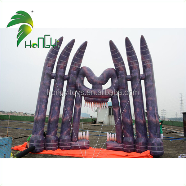 Holiday Decoative Giant Halloween Inflatable Arch For Sale