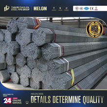 steel pipe made in china price list BS1387 half circle galvanized corrugated steel pipe made in china