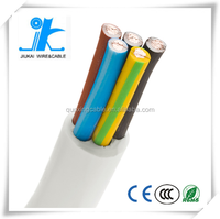 CE VDE Approved Heat resistant European power cord v-90 flexible pvc H03V2V2-F Italian Cable