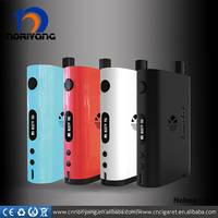 stock wholesale authentic tc box mod kanger nebox with lcd screen e-cig fashion style