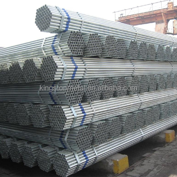 Hot dipped galvanized steel pipe BS 1387 galvanized pipe GI pipe price