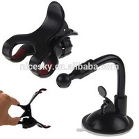 Car Phone Holder 360 Rotation Suction Cup Car Windshield Mobile Phone Holder Bracket Mount for Iphone 5 6 6s for PSP GPS Mount